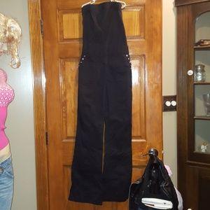 Bebe tube jump suit! XS black